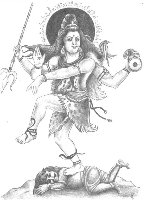Shiva the destroyer by saeglopur28 on DeviantArt
