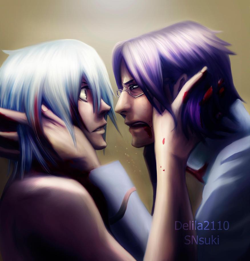DGM Komui/Allen: Promise me (dark version) by Delila2110