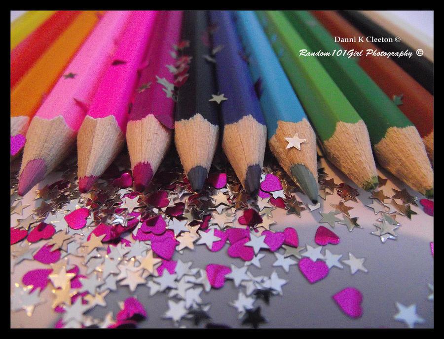 Rainbow Pencils 002 by Random101Girl