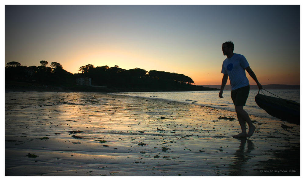 Sunset at Helen's Bay by rowanseymour