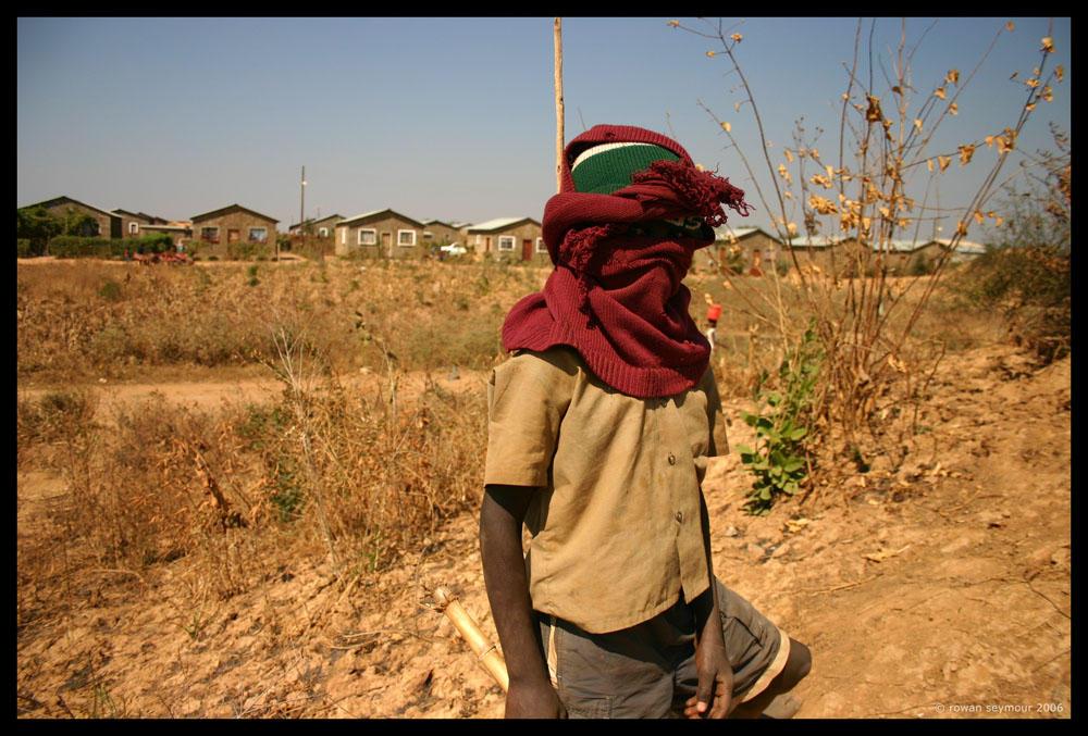 Zambia - The Warrior by rowanseymour