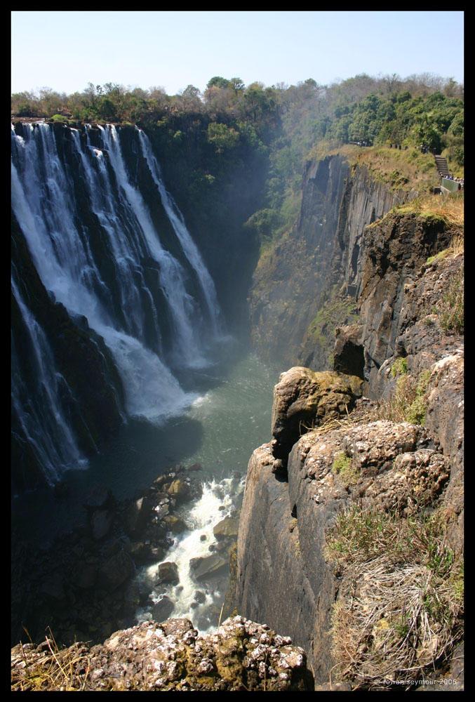 Zambia - Victoria Falls I by rowanseymour