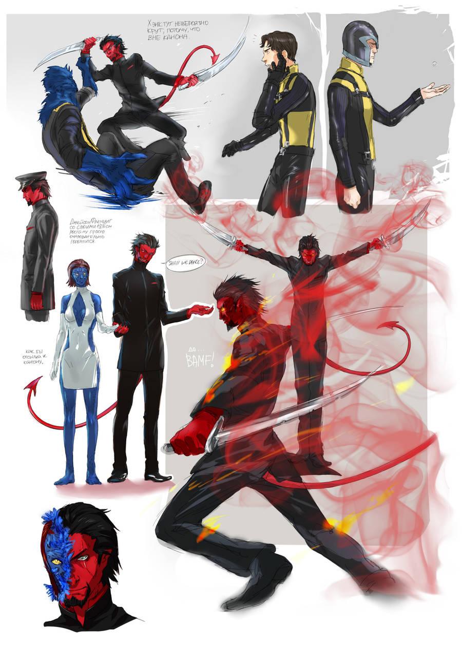 X-men First Class fanart by NadzomiViro