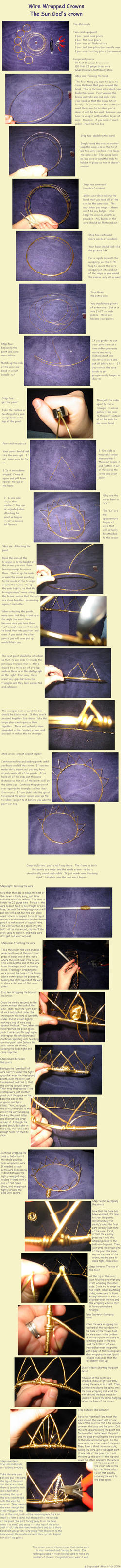 Wire-Wrapped Crown Making by Attackfish