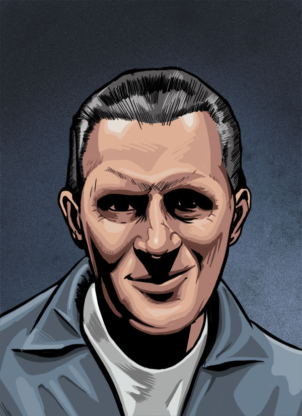 Hannibal Lecter by attiba