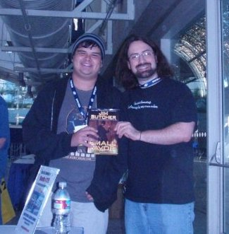 JIM BUTCHER AND MEEEEE by Elemental-Magus