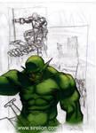 Orc sketch N2