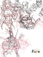 Sketch n4 by sirelion80