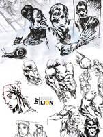 Sketch n10 by sirelion80