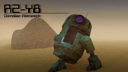 R2-Y8 Astromech by Dartein