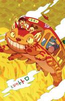 Catbus Adventure by chiou