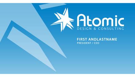 Atomic Business Card 2