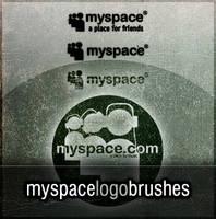 Photoshop MySpace Logo Brushes by joezerosum