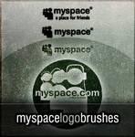 Photoshop MySpace Logo Brushes