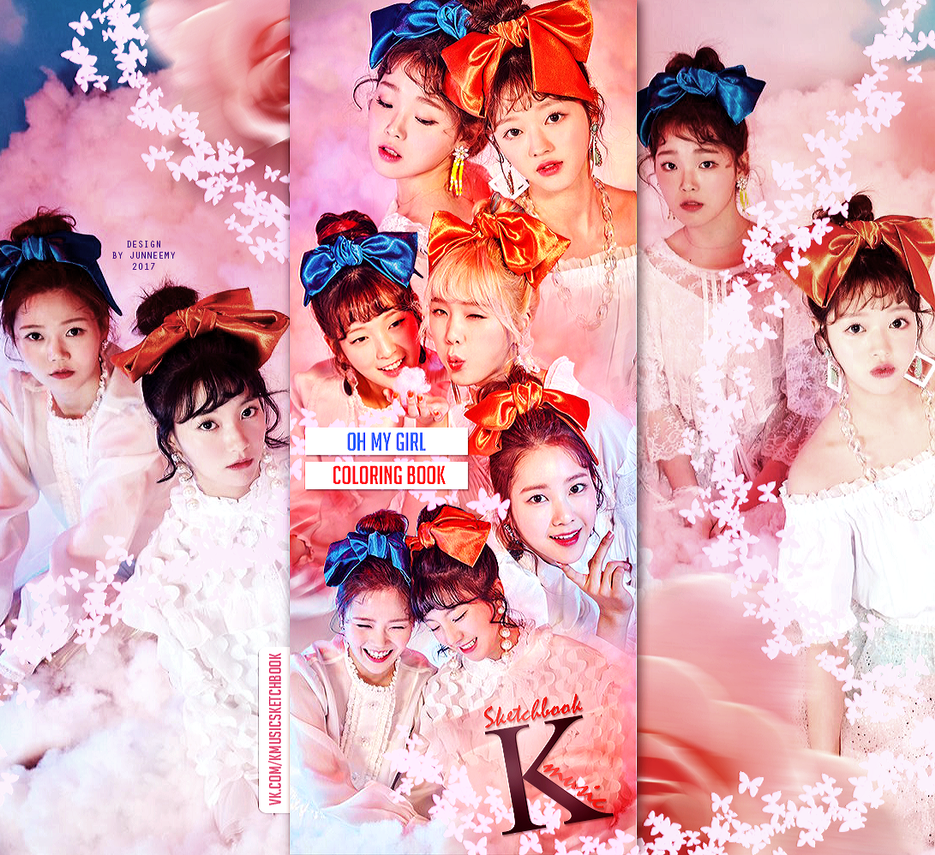 OH MY GIRL \'COLORING BOOK\' // WEB by Junneemy on DeviantArt