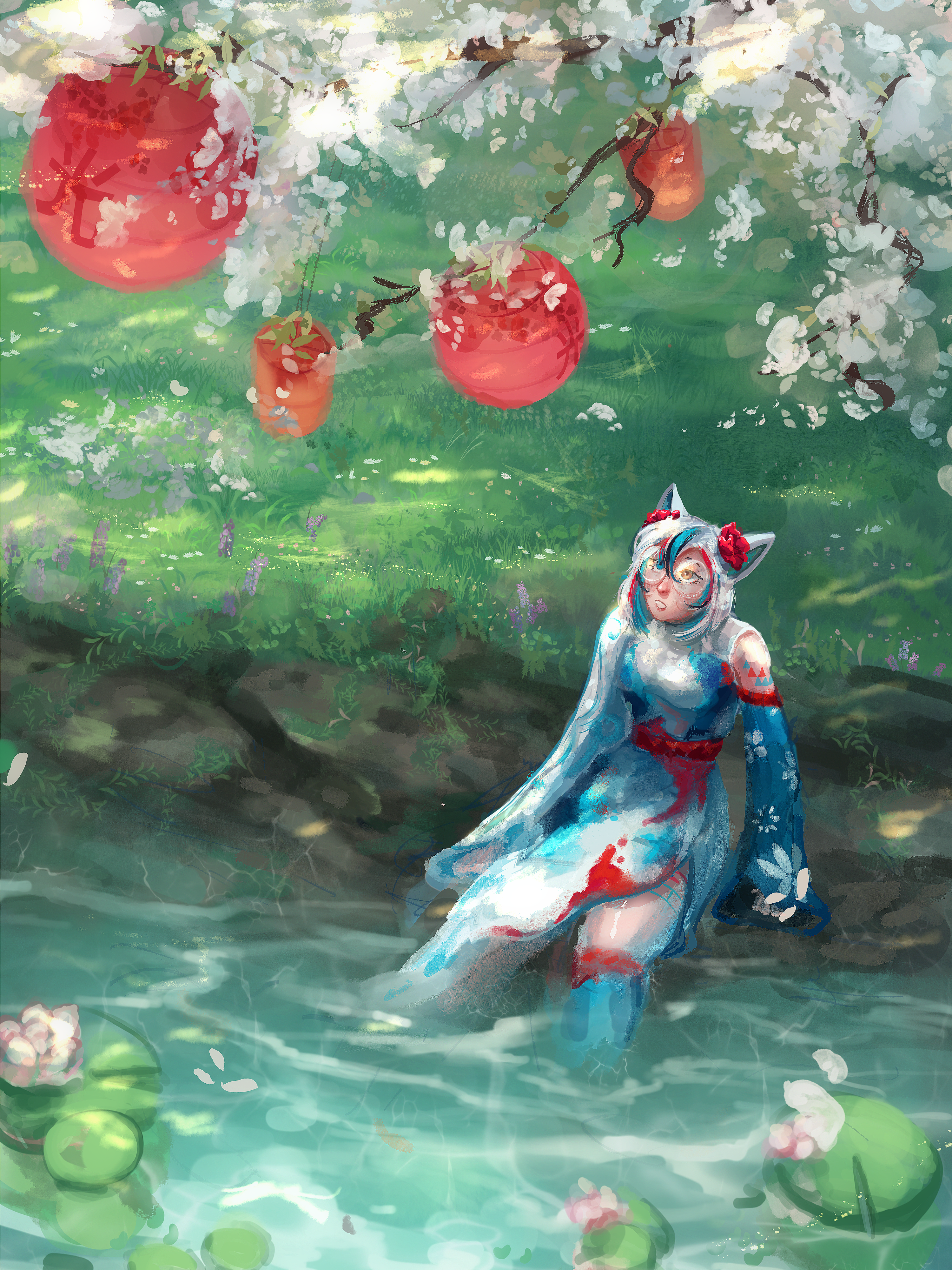 Out by the Cherry Blossoms [CONTEST ENTRY]