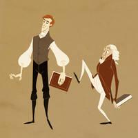 Jonathan Strange + Mr. Norrell by readtoher