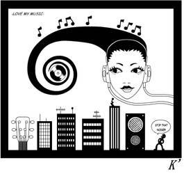 -Love my music- by Kbadguy