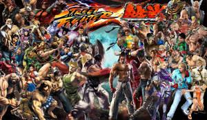 Street Fighter X Tekken by Tehaku