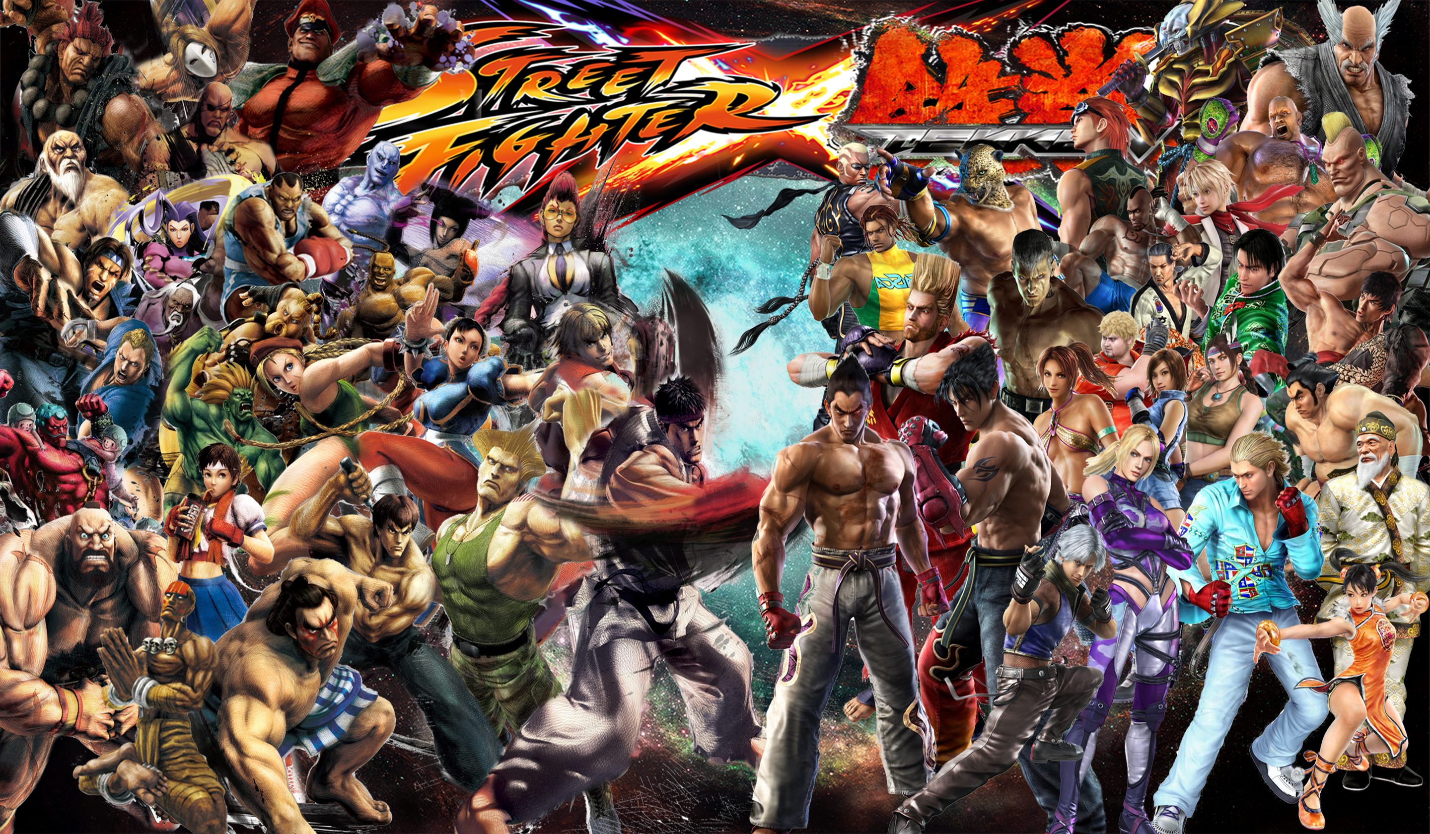 Street Fighter X Tekken By Tehaku On Deviantart