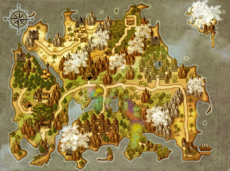 World map by RitoJS on DeviantArt