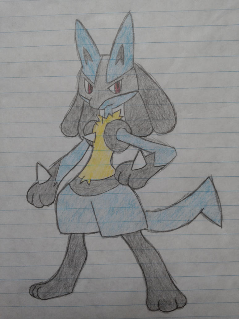 Lucario by zarloc101