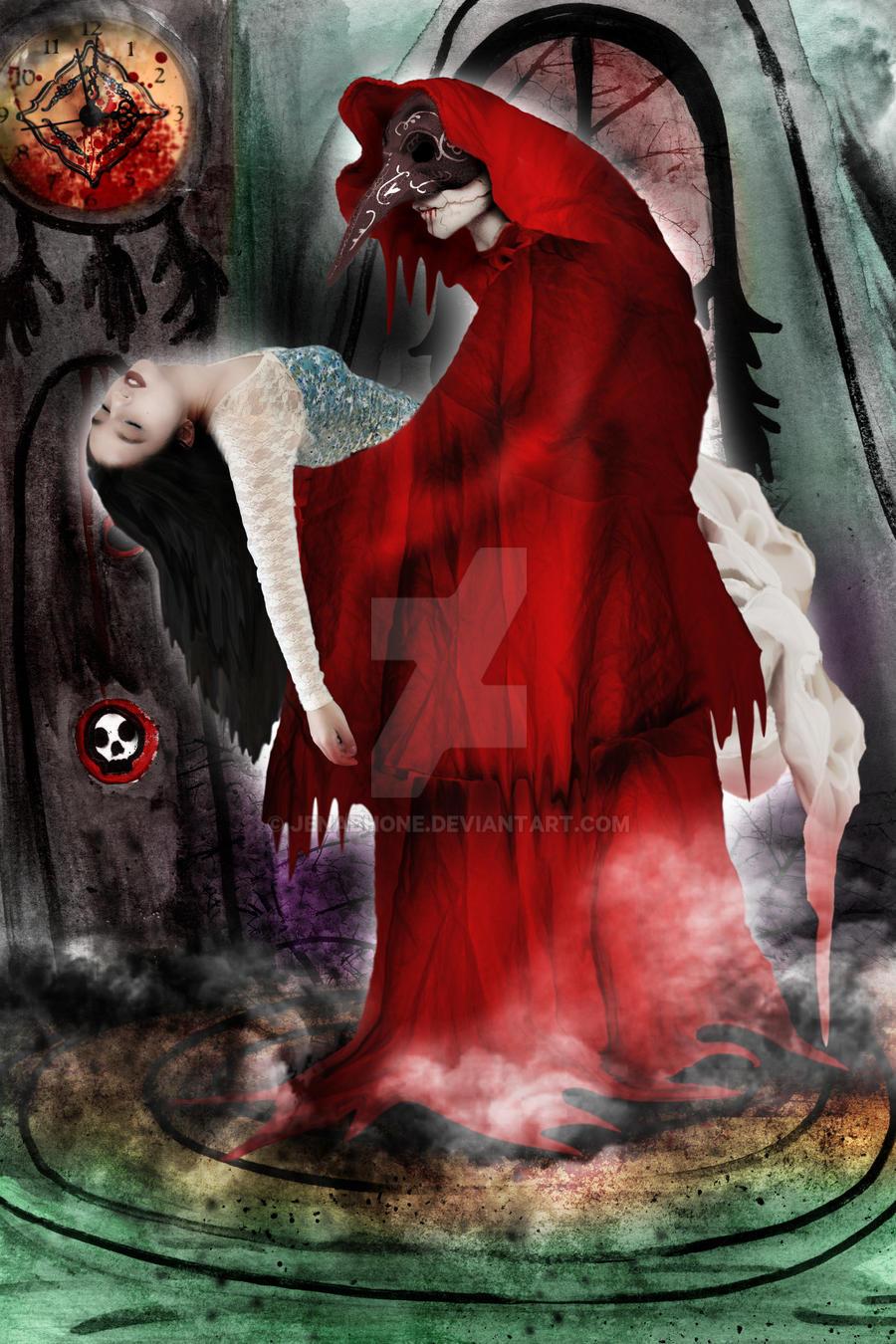 Edgar Allan Poe's Masque of The Red Death by jenabhone on DeviantArt
