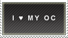 I love my OC by Kibikayuki