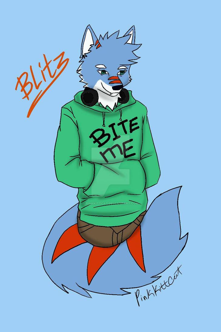 For Blitz da Wolf by PinkKittCat
