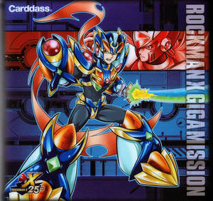 Rockman X Gigamission cardass manga and cards