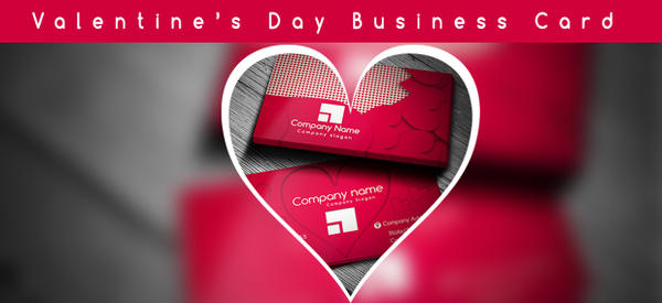 Valentine's Day Business Card by SSGD