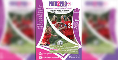 flyer for path2pro by SSGD