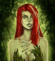Poison Ivy by NightOwlDraws