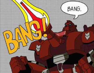 Pop. Bang. Warpath. by misternewuzer