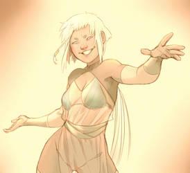 Dancer - Ethnic girl by hasha92