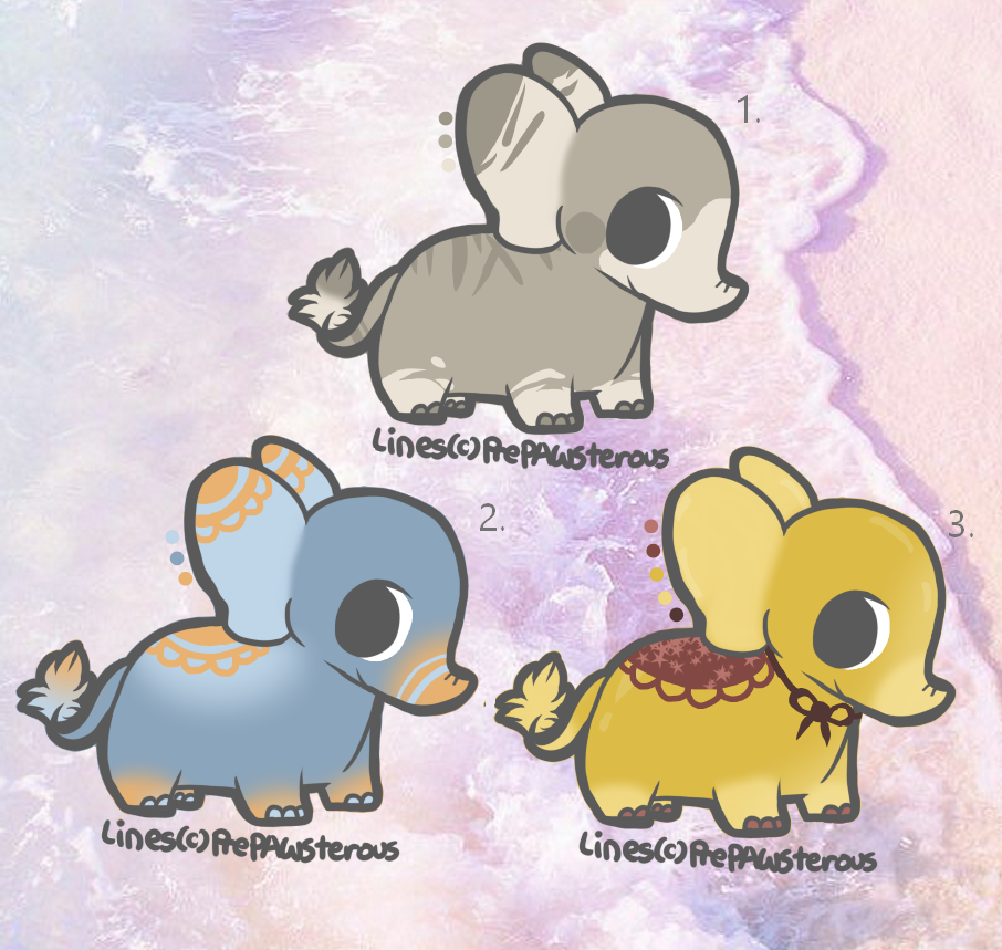Elephant Adopts by Journeyjj