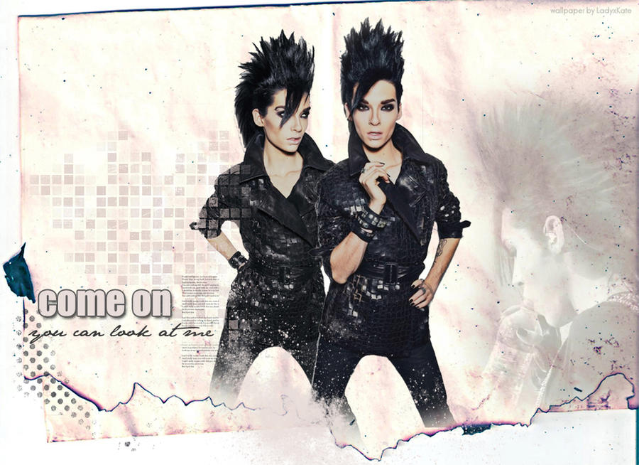 bill kaulitz wallpapers. Bill Kaulitz wallpaper by