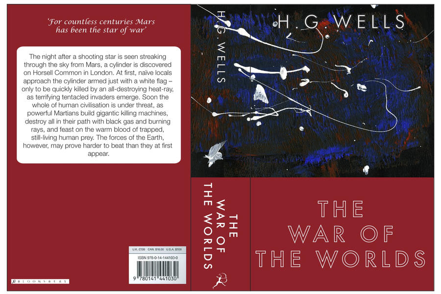 war of the worlds book cover. Book Cover - War of the Worlds