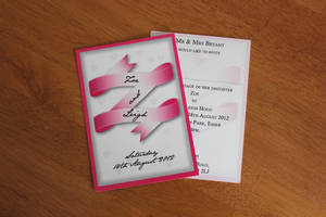 Wedding Invitation by deebeeArt