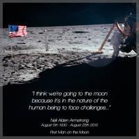 RIP Neil Armstrong by deebeeArt