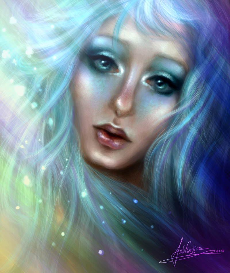 Blue by Anngelise