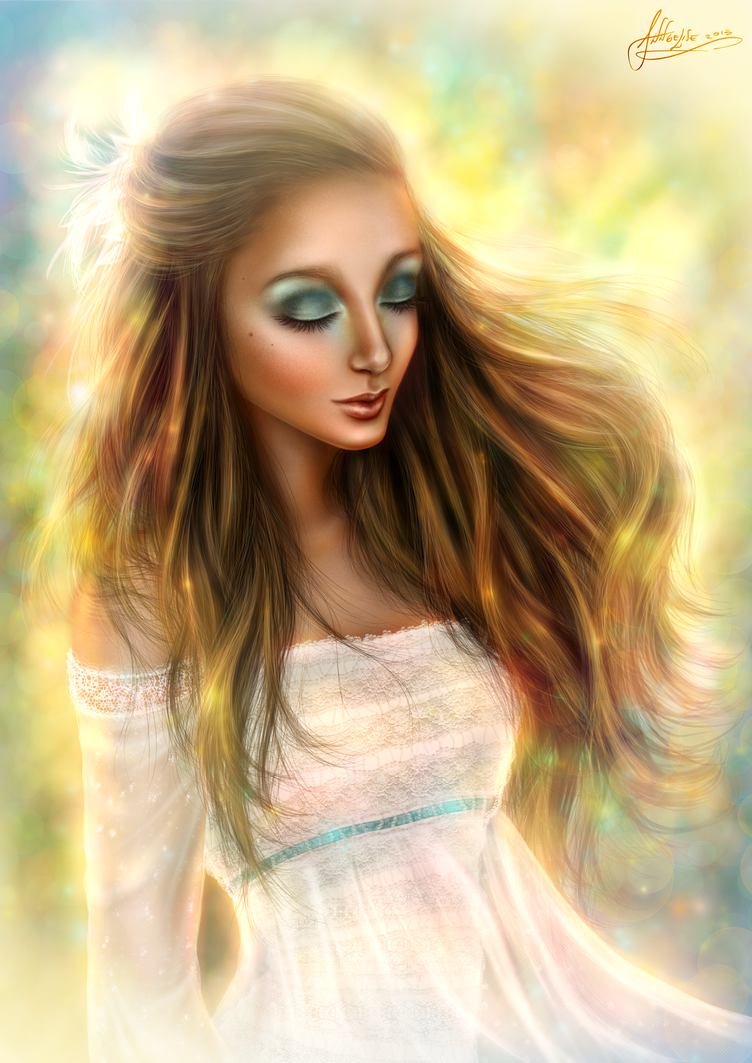 'The Muse' - Artistic Portrait #4 - Valeria by Anngelise