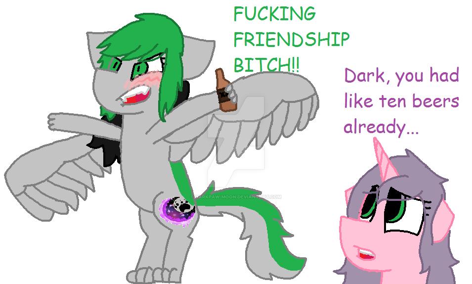 Fucking Friendship by DarkPaw-Moon