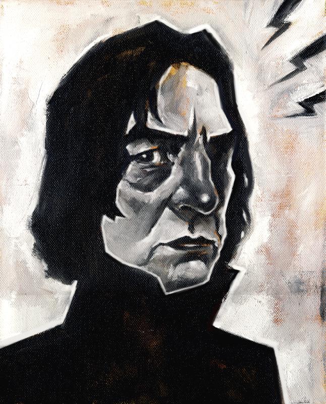 Severus Snape by sonny123