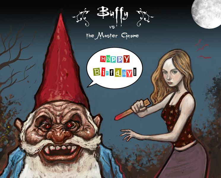 Buffy The Vampire Slayer The Secreter Robot Spy Factory