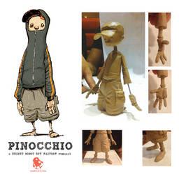 Pinocchio Figurine