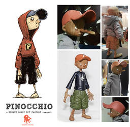 Pinocchio Figure Redux