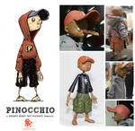 Pinocchio Figure Redux by sonny123