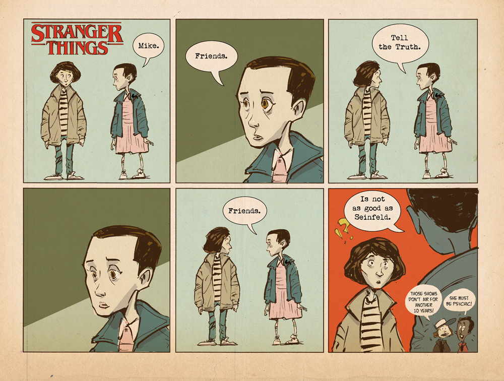 Stranger Thing #1 by sonny123