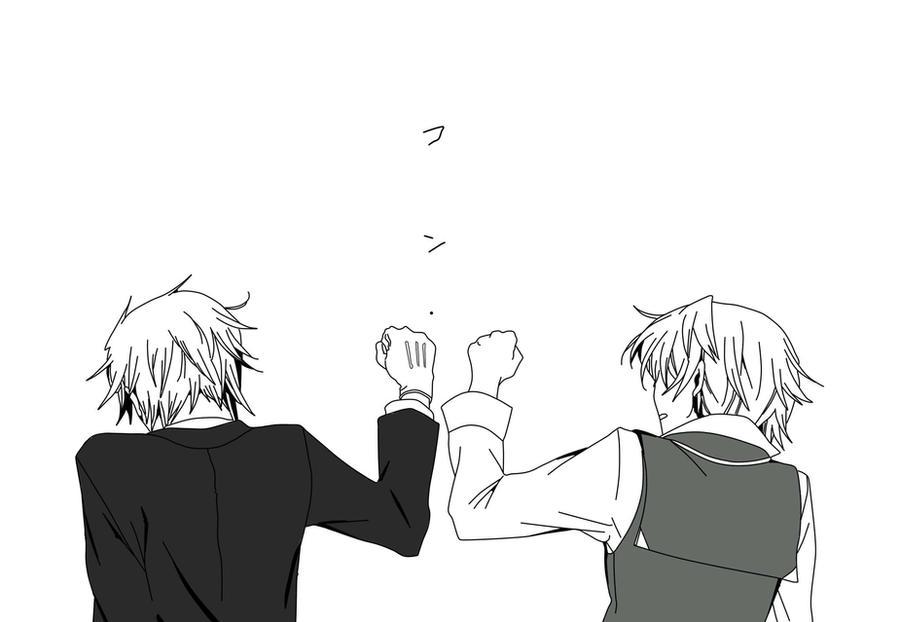 Elliot and Oz - Friendship by darkangelephii